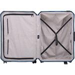 Lojel Voja Hardside Suitcase Set of 3 Blue JVO55, JVO66, JVO77 with FREE Lojel Luggage Scale OCS27 - 4