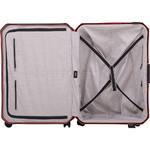 Lojel Voja Hardside Suitcase Set of 3 Terracotta JVO55, JVO66, JVO77 with FREE Lojel Luggage Scale OCS27 - 4