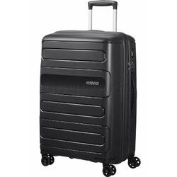 American Tourister Sunside Medium 68cm Hardside Suitcase Black 07527