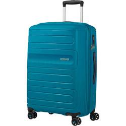 American Tourister Sunside Medium 68cm Hardside Suitcase Teal 07527