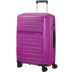 American Tourister Sunside Medium 68cm Hardside Suitcase Ultraviolet 07527