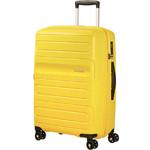 American Tourister Sunside Medium 68cm Hardside Suitcase Sunshine Yellow 07527