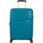 American Tourister Sunside Medium 68cm Hardside Suitcase Teal 07527 - 2