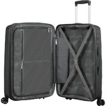 American Tourister Sunside Medium 68cm Hardside Suitcase Black 07527 - 5