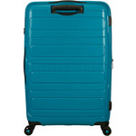 American Tourister Sunside Hardside Suitcase Set of 3 Teal 14140, 07527, 07528 with FREE Samsonite Luggage Scale 34042  - 1