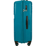 American Tourister Sunside Hardside Suitcase Set of 3 Teal 14140, 07527, 07528 with FREE Samsonite Luggage Scale 34042  - 3