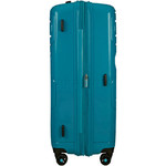 American Tourister Sunside Hardside Suitcase Set of 3 Teal 14140, 07527, 07528 with FREE Samsonite Luggage Scale 34042  - 4