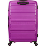 American Tourister Sunside Hardside Suitcase Set of 3 Ultraviolet 14140, 07527, 07528 with FREE Samsonite Luggage Scale 34042  - 1