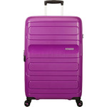 American Tourister Sunside Hardside Suitcase Set of 3 Ultraviolet 14140, 07527, 07528 with FREE Samsonite Luggage Scale 34042  - 2
