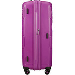 American Tourister Sunside Hardside Suitcase Set of 3 Ultraviolet 14140, 07527, 07528 with FREE Samsonite Luggage Scale 34042  - 4