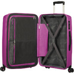 American Tourister Sunside Hardside Suitcase Set of 3 Ultraviolet 14140, 07527, 07528 with FREE Samsonite Luggage Scale 34042  - 5