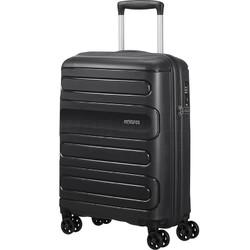 American Tourister Sunside Small/Cabin 55cm Hardside Suitcase Black 14140