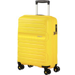 American Tourister Sunside Small/Cabin 55cm Hardside Suitcase Sunshine Yellow 14140