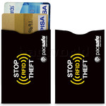 Pacsafe RFIDsleeve 25 RFID-Blocking Credit Card Sleeves (2 Pack) Black 10360