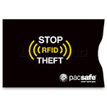 Pacsafe RFIDsleeve 25 RFID-Blocking Credit Card Sleeves (2 Pack) Black 10360 - 1