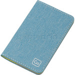 GO Travel The Slip Micro Credit Card RFID Wallet Turquoise GO687