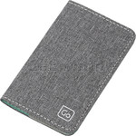 GO Travel The Slip Micro Credit Card RFID Wallet Grey GO687