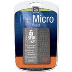 GO Travel RFID Micro Wallet Blue GO684 - 3