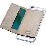 GO Travel The Slip Micro Credit Card RFID Wallet Navy GO687 - 3