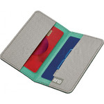GO Travel The Slip Micro Credit Card RFID Wallet Grey GO687 - 3