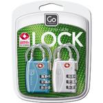 GO Travel Combi Cable TSA Locks GO360 - 4
