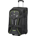 High Sierra AT7 66cm Wheeled Duffel with Backpack Straps Mercury 57019