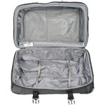 High Sierra AT7 66cm Wheeled Duffel with Backpack Straps Mercury 57019 - 4