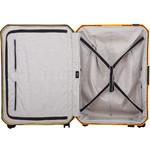 Lojel Voja Hardside Suitcase Set of 3 Yolk Yellow JVO55, JVO66, JVO77 with FREE Lojel Luggage Scale OCS27 - 4