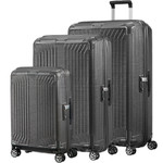 Samsonite Lite-Box Hardside Suitcase Set of 3 Eclipse Grey 79301, 79300, 79297 with FREE Samsonite Luggage Scale 34042