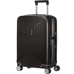 Samsonite Aspero Small/Cabin 55cm Hardsided Suitcase Metallic Black 91044