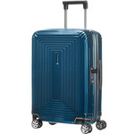 Samsonite Aspero Small/Cabin 55cm Hardsided Suitcase Metallic Blue 91044