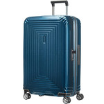 Samsonite Aspero Medium 69cm Hardsided Suitcase Metallic Blue 91045