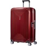 Samsonite Aspero Medium 69cm Hardsided Suitcase Metallic Red 91045