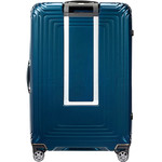 Samsonite Aspero Hardside Suitcase Set of 3 Metallic Blue 91046, 91045, 91044 with FREE Samsonite Luggage Scale 34042 - 1