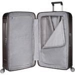 Samsonite Aspero Hardside Suitcase Set of 3 Metallic Black 91047, 91045, 91044 with FREE Samsonite Luggage Scale 34042 - 2