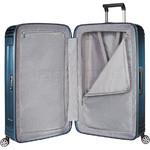Samsonite Aspero Hardside Suitcase Set of 3 Metallic Blue 91046, 91045, 91044 with FREE Samsonite Luggage Scale 34042 - 2