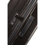 Samsonite Aspero Hardside Suitcase Set of 3 Metallic Black 91047, 91045, 91044 with FREE Samsonite Luggage Scale 34042 - 3