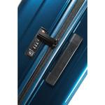 Samsonite Aspero Hardside Suitcase Set of 3 Metallic Blue 91046, 91045, 91044 with FREE Samsonite Luggage Scale 34042 - 3