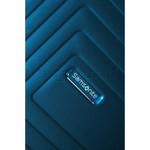 Samsonite Aspero Hardside Suitcase Set of 3 Metallic Blue 91046, 91045, 91044 with FREE Samsonite Luggage Scale 34042 - 8