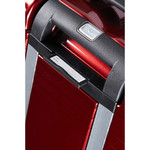 Samsonite Aspero Hardside Suitcase Set of 3 Metallic Red 91047, 91045, 91044 with FREE Samsonite Luggage Scale 34042 - 6