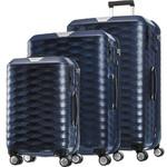 Samsonite Polygon Hardside Suitcase Set of 3 Blue 11638, 11637, 11636 with FREE Samsonite Luggage Scale 34042
