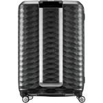 Samsonite Polygon Hardside Suitcase Set of 3 Dark Grey 11638, 11637, 11636 with FREE Samsonite Luggage Scale 34042 - 1