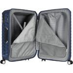 Samsonite Polygon Hardside Suitcase Set of 3 Blue 11638, 11637, 11636 with FREE Samsonite Luggage Scale 34042 - 4