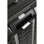 Samsonite Polygon Hardside Suitcase Set of 3 Dark Grey 11638, 11637, 11636 with FREE Samsonite Luggage Scale 34042 - 6