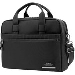 "Samsonite Vestor 15.6"" Laptop & Tablet Bailhandle Briefcase Black 10429"