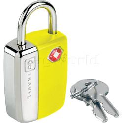 GO Travel Glo Sentry Lock Yellow GO338