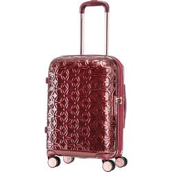 Samsonite Theoni Small/Cabin 55cm Hardside Suitcase Red 10433