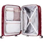 Samsonite Theoni Hardside Suitcase Set of 3 Red 10436, 10435, 10433 with FREE Samsonite Luggage Scale 34042 - 3
