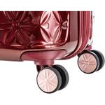 Samsonite Theoni Hardside Suitcase Set of 3 Red 10436, 10435, 10433 with FREE Samsonite Luggage Scale 34042 - 6