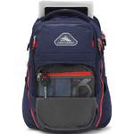 "High Sierra Autry 15.6"" Laptop & Tablet Backpack Redline Trim 05159 - 2"